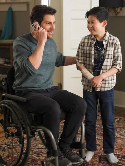 Time with Theo -tall - A Million Little Things Season 3 Episode 17