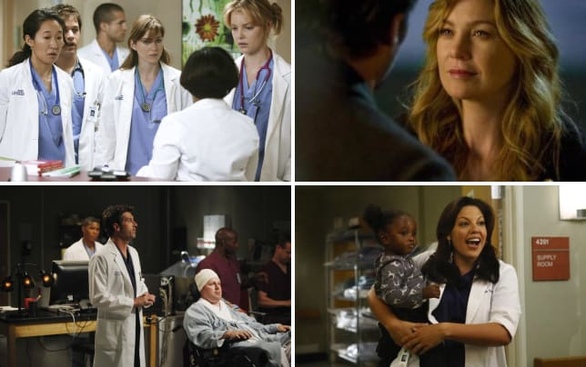 Greys anatomy pilot pic