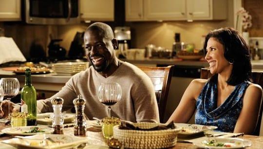 Roland & Joan At Dinner