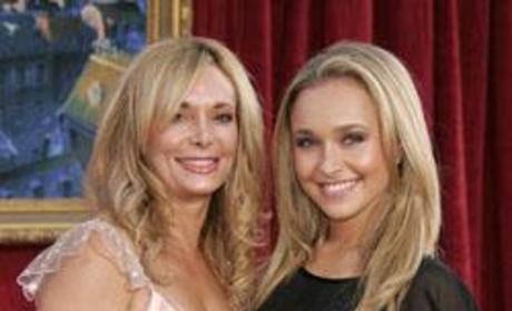 Hayden and Mrs. Panettiere