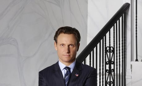 Tony Goldwyn as President Fitzgerald Grant Season 4 - Scandal