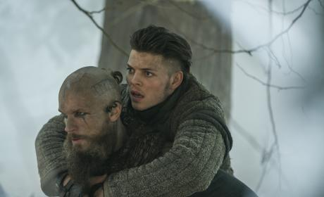 Floki and Ivar - Vikings Season 4 Episode 17
