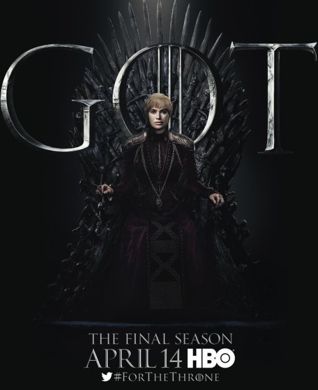 Cersei on the Throne - Game of Thrones