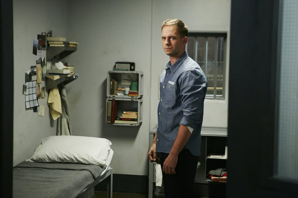 Patrick J Adams Talks Mikes Hair Life In Prison Relationships On