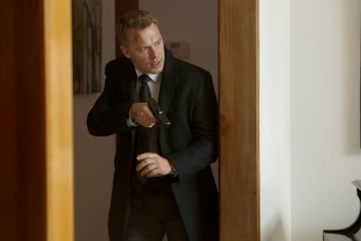 Ressler a bit bloody - The Blacklist Season 4 Episode 19
