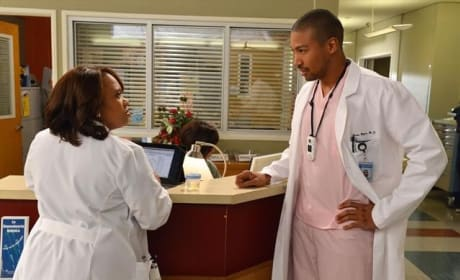 Jackson and Bailey on Grey's