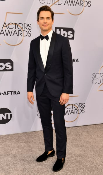 Matt Bomer Attends SAG Awards