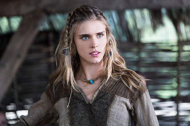 Gaia Weiss as Porunn on Vikings