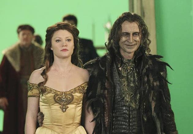 Belle and Rumpeltstiltskin - Once Upon A Time