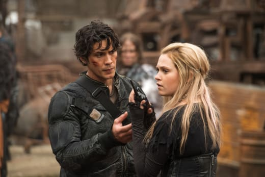 Bellarke - The 100 Season 4 Episode 1