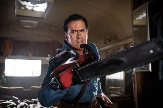 Ash with Chainsaw - Ash vs Evil Dead