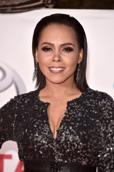 Amirah Vann Attends Event