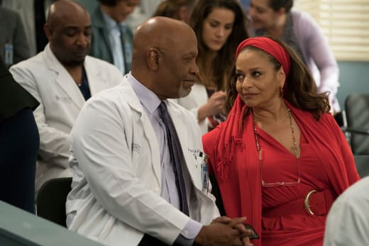 Supportive Couple - Grey's Anatomy Season 14 Episode 20