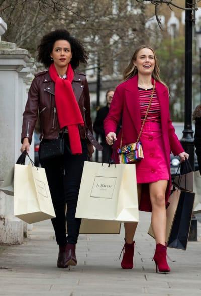 Best Friends Go Shopping