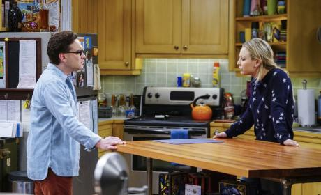 Penny is Upset - The Big Bang Theory Season 10 Episode 13