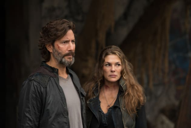 Kabby - The 100 Season 4 Episode 1
