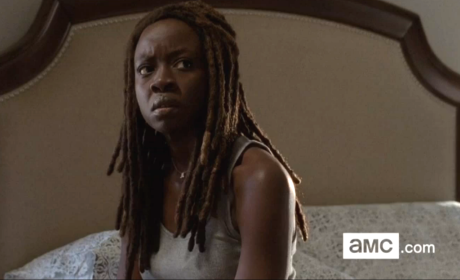 Michonne in Alexandria - The Walking Dead