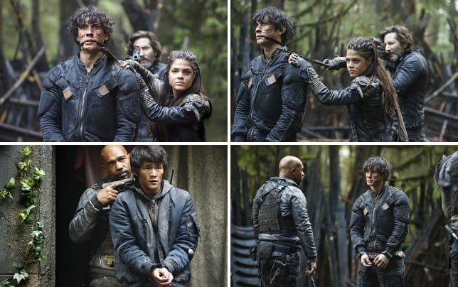 The hostage the 100 season 3 episode 10