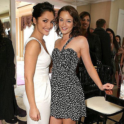 Leighton Meester and Minka Kelly