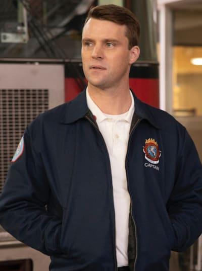 Casey upset - Chicago Fire Season 9 Episode 6