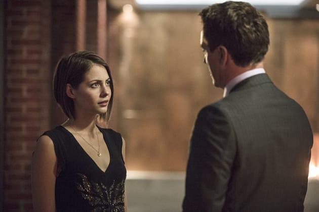 Talking with Dad - Arrow Season 3 Episode 5
