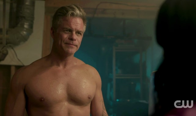 Sheriff Keller has a killer bod on Riverdale