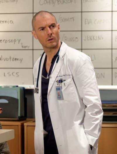 Cormac's Interest - Tall  - Grey's Anatomy Season 16 Episode 15