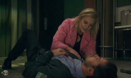 Nathan Gets Shot - General Hospital