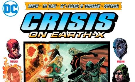 Crisis On Earth-X Art - Arrow