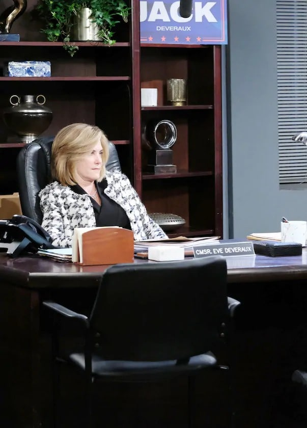 Commissioner Eve Deveraux - Days of Our Lives