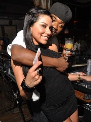 Cocktail and Ray J Photo