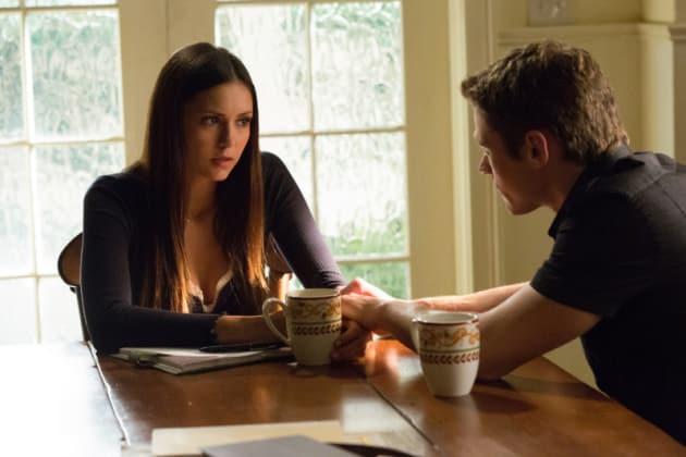 Elena and Matt Scene