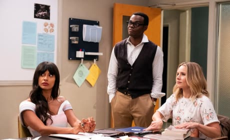 Time for Class - The Good Place Season 3 Episode 3