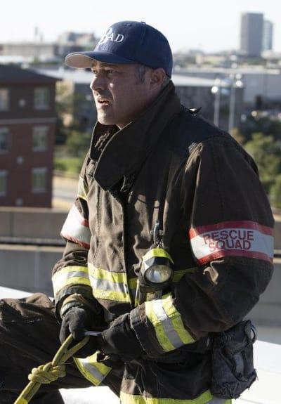 Severide rappel - Chicago Fire Season 8 Episode 7