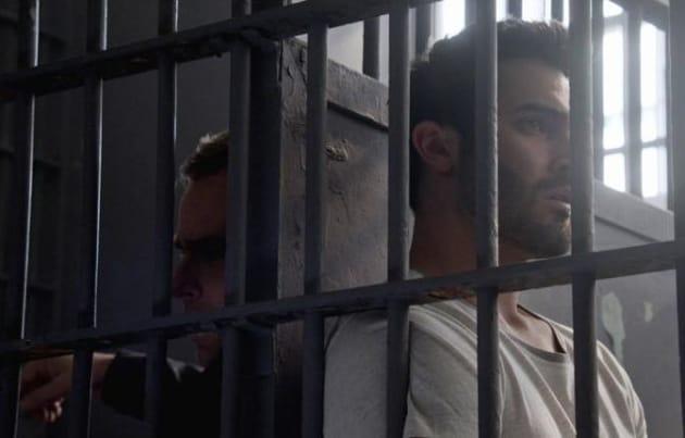 Argent and Derek in Jail