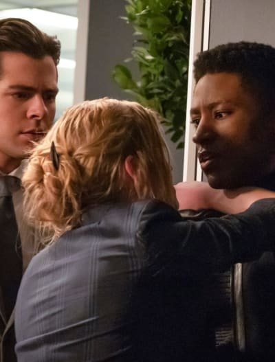 Crankier Mia - Arrow Season 7 Episode 16