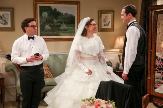 The Wedding Plan - The Big Bang Theory
