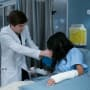 Shaun and his patient - The Good Doctor Season 1 Episode 13