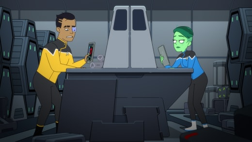 Tired Ensigns - Star Trek: Lower Decks Saison 1 Episode 3