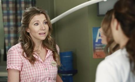 Sarah Chalke on Grey's Anatomy