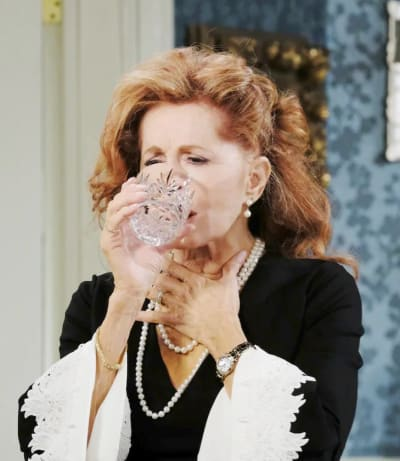(TALL) Maggie Takes a Drink - Days of Our Lives