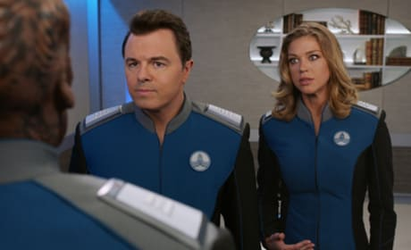Reprimand - The Orville Season 1 Episode 3