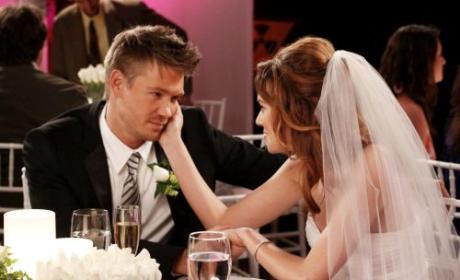 Peyton, Lucas Wedding Pic