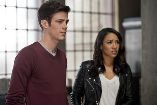 Barry and Iris - The Flash Season 2 Episode 11