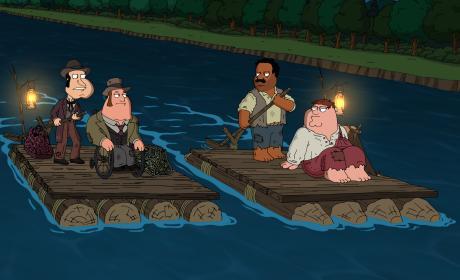 Three Classic Novels - Family Guy