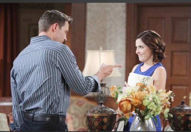 Theresa Looks Happy - Days of Our Lives