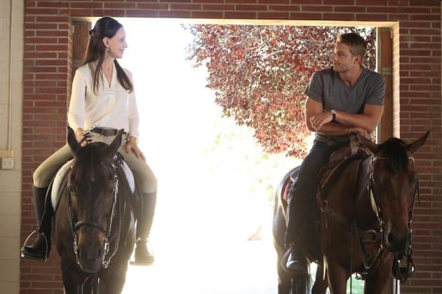 Victoria on Horseback