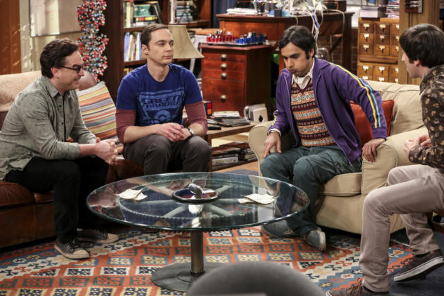 Hanging Out at the Apartment - The Big Bang Theory Season 10 Episode 16