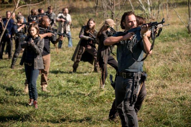 Plan Of Attack - The Walking Dead Season 8 Episode 16