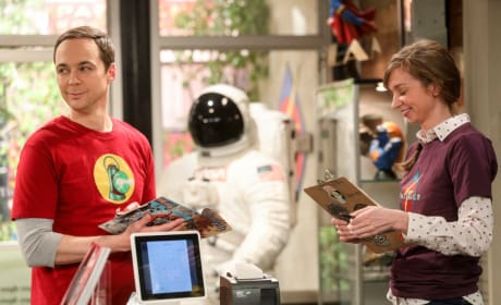 The Comic Book Store Experience - The Big Bang Theory